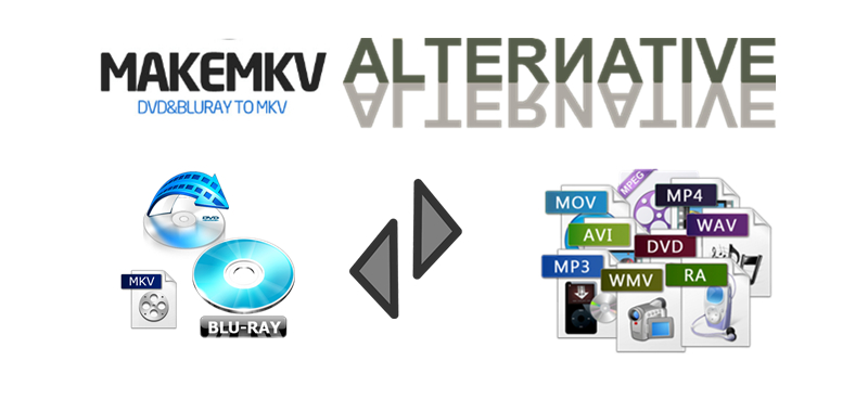 Alternatives to MakeMKV: Best 3 DVD (Blu-ray) Ripper for MakeMKV