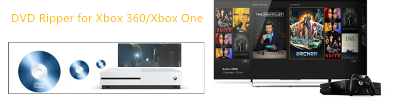Rip Movies From DVD Disc for Watching on Xbox 360/Xbox One
