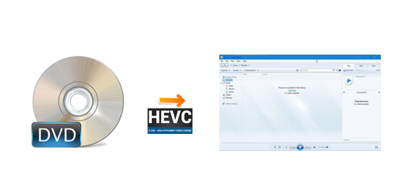 Backup DVD to H.265/HEVC for Windows Media Player Playback on Windows 10
