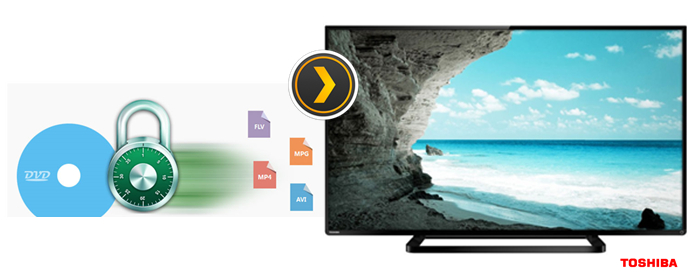 How to Play DVD on Toshiba TV with Plex