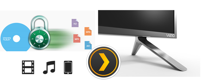 Streaming DVD Movies on Vizio TV via Plex