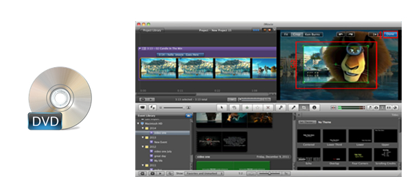 How to Import and Edit DVD Movies on iMovie on Mac